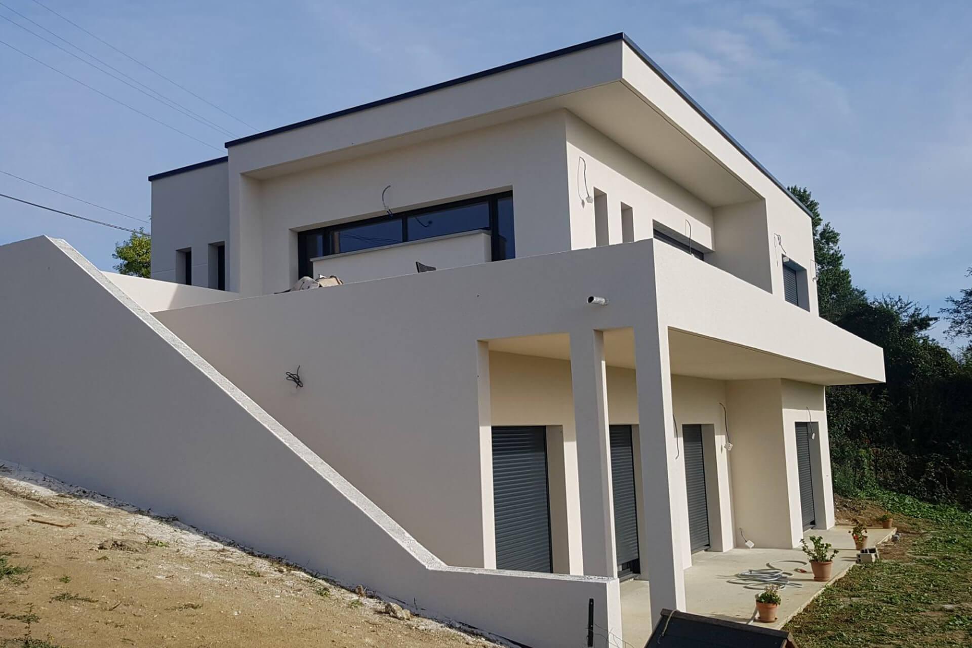 Création maison moderne