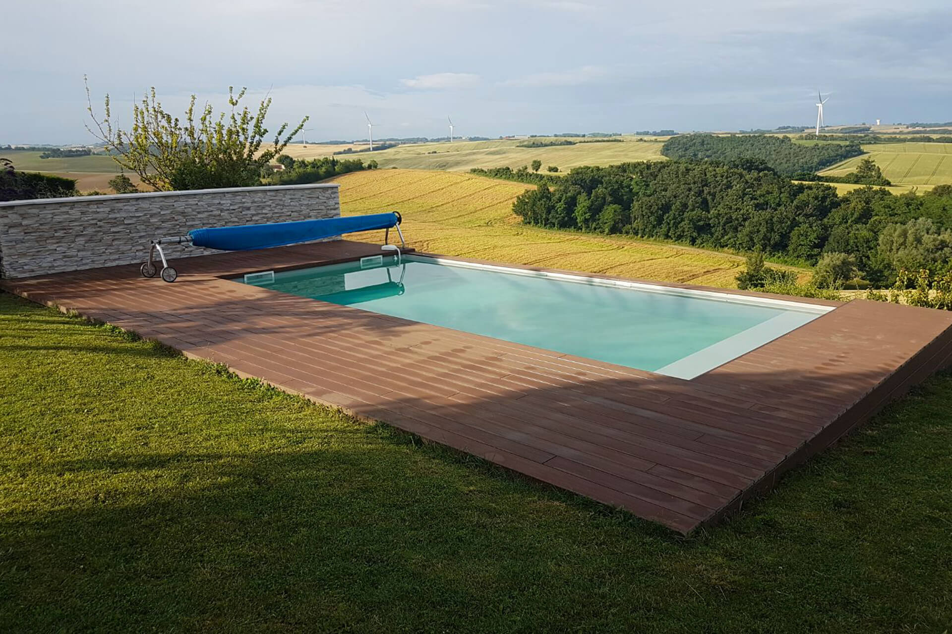 Read more about the article Réalisation piscine